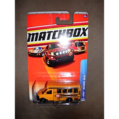 2010 MATCHBOX CITY ACTION #62 FORT SUMMER GMC SCHOOL BUS by Matchbox: Toys & Games