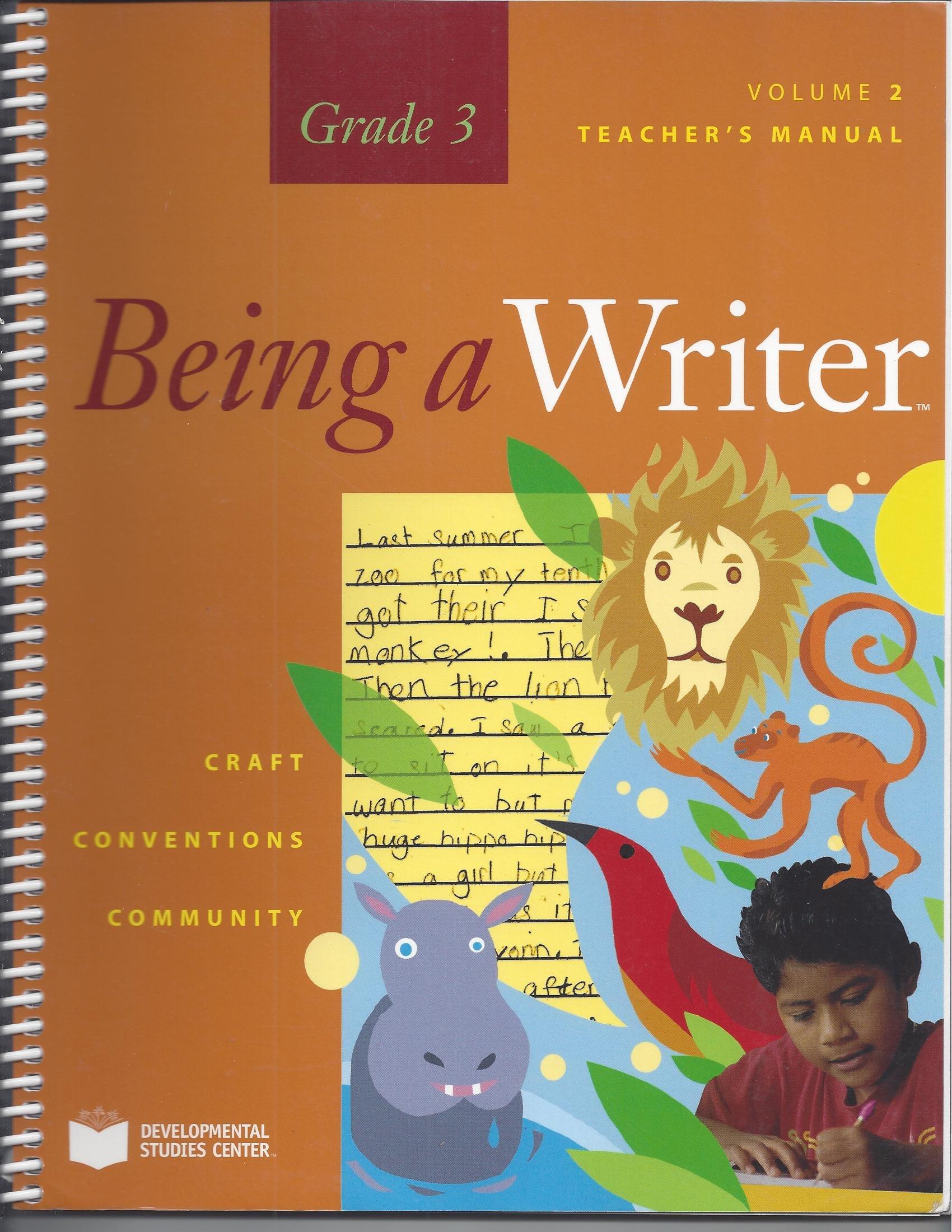 Teacher Manual Volume 2, Being a Writer, Grade 3 pdf epub