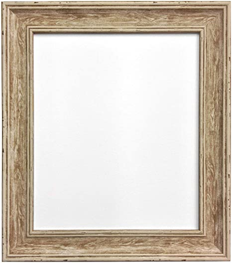 frames by post scandi vintage distressed wood picture photo frame 50