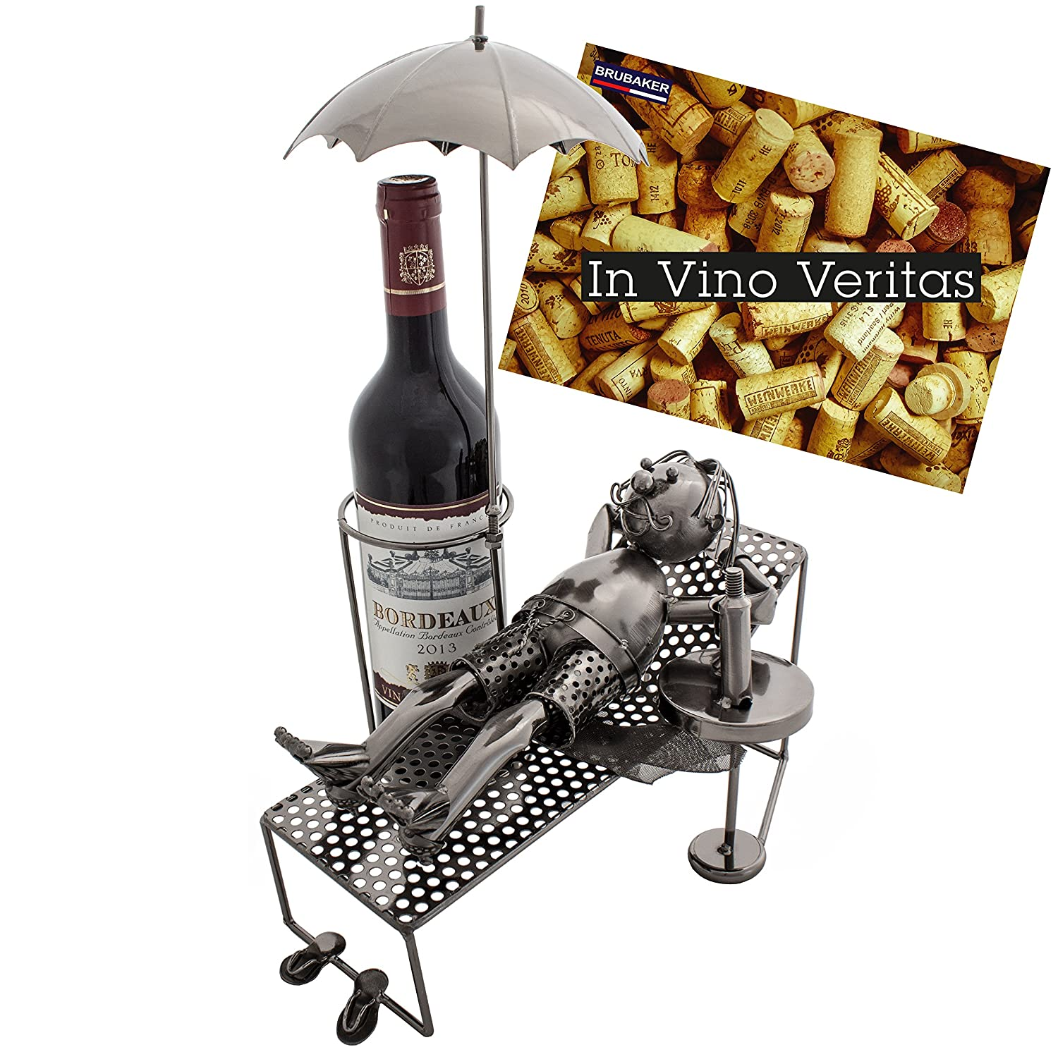 BRUBAKER Wine Bottle Holder