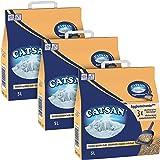 Catsan Agglomérante Plus - Litière pour chat 5 L - Lot de 3