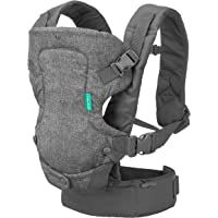 Infantino Flip Advanced 4-in-1 Carrier - Ergonomic, convertible, face-in and face-out front and back carry for newborns…