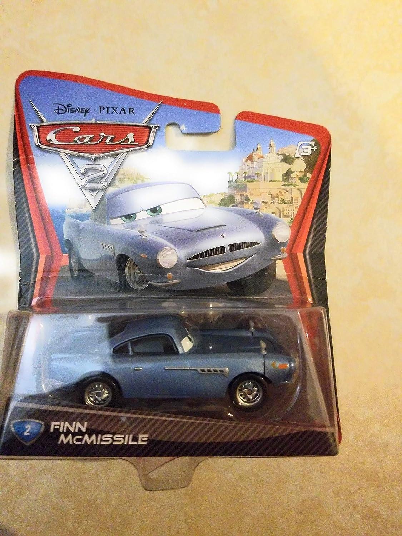 Disney Pixar CARS 2 Movie 155 Die Cast Car #2 Finn McMissile