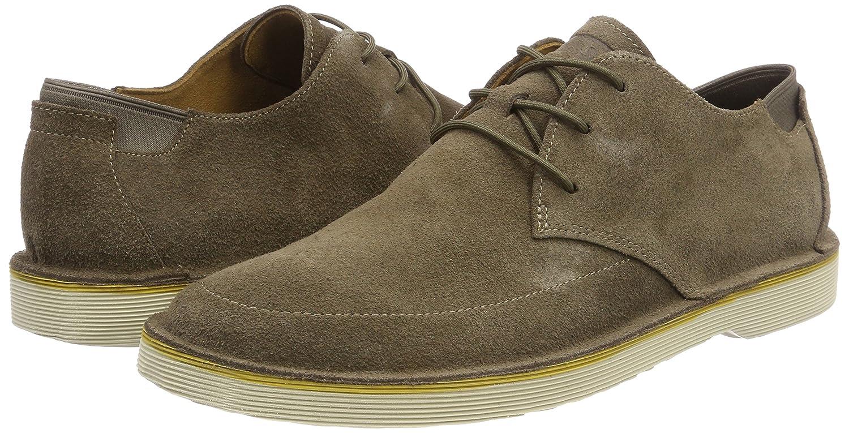 Morrys, Zapatos de Cordones Oxford para Hombre, Marrón (Medium Brown 210), 42 EU Camper