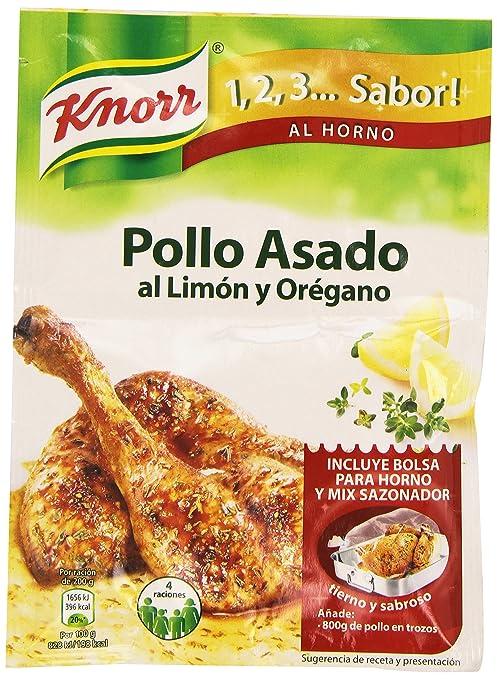 Knorr 1, 2, 3... Sabor al Horno Pollo Asado al Limón y ...