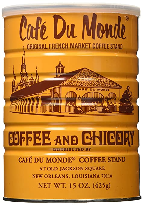 best coffee beans for cold brew Cafe Du Monde Coffee Chicory, 15-Ounce (Pack of 3)