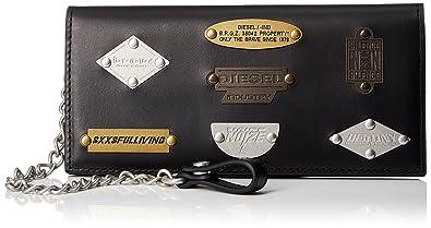 77d87ef976fc Amazon   (ディーゼル) DIESEL メンズ 財布 長財布 X05620P1161 UNI ...