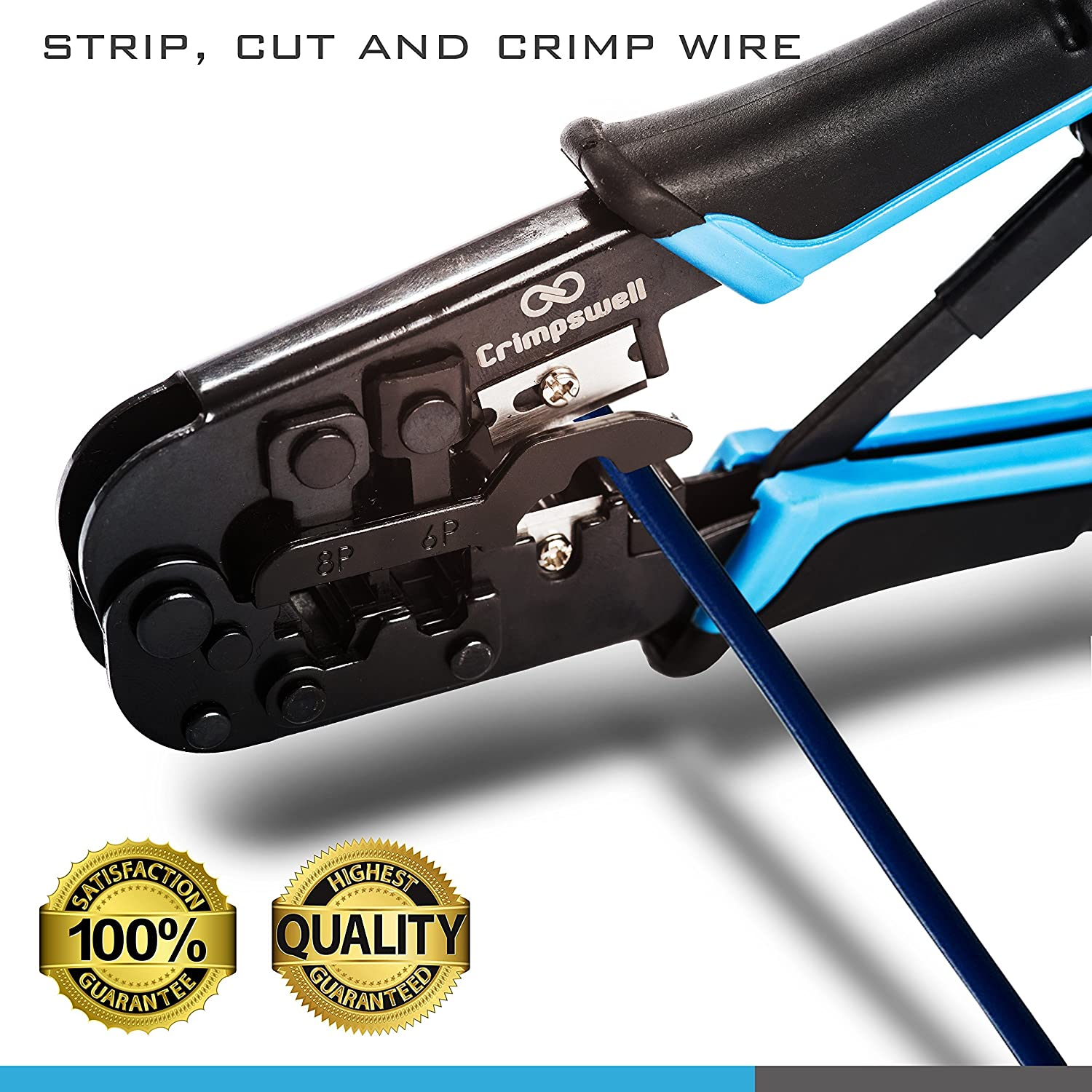 Rj45 Ethernet Cable Wiring Tools Simple Electrical Diagram Plug Crimping Tool And Rj12 Rj11 Crimper Cutter Stripper Wire Crimpers