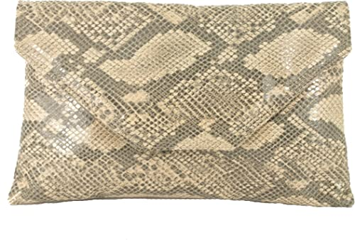 Ladies Designer Faux Snakeskin Handbag Women/'s Chain Shoulder Strap Bag UK