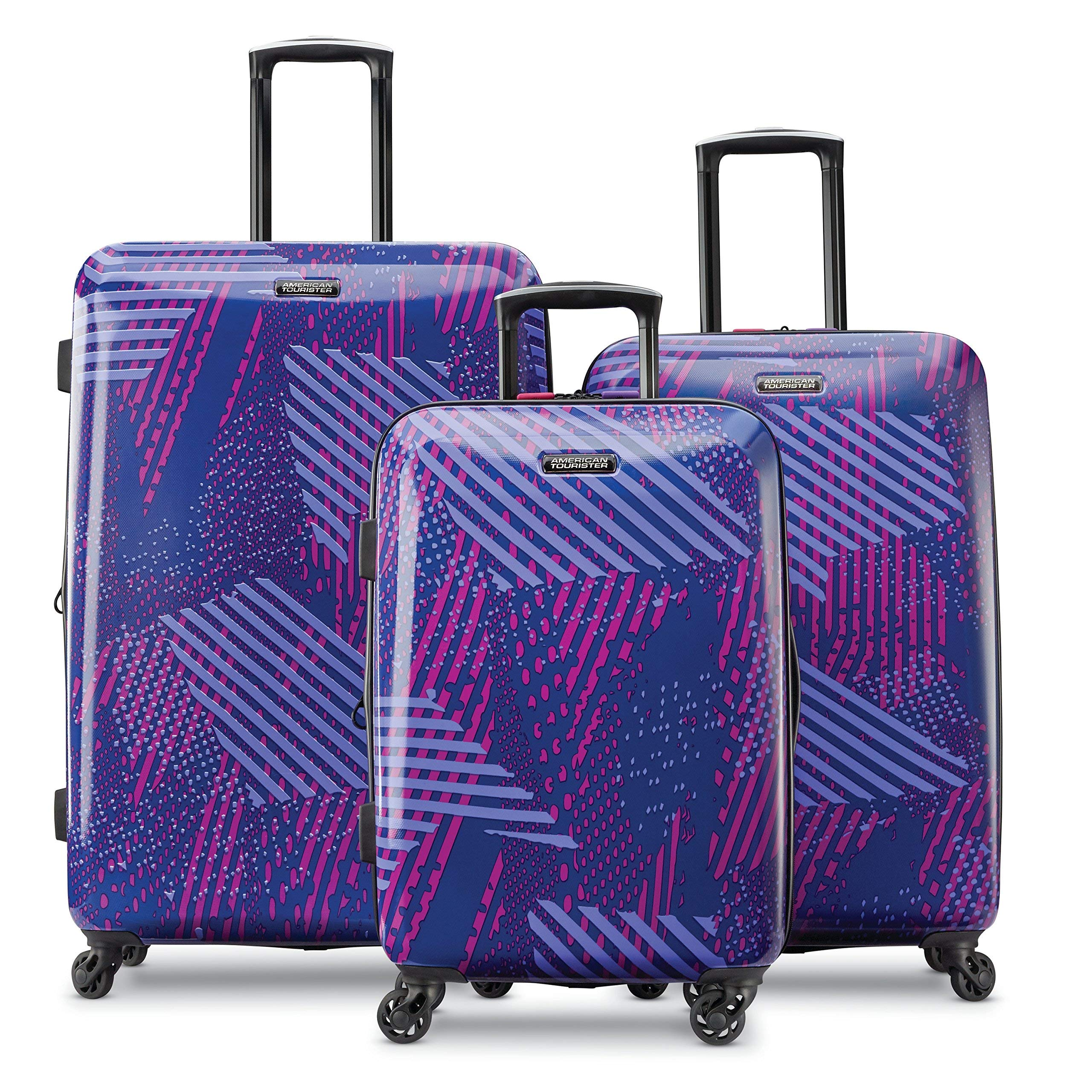 American Tourister 3-Piece Set, Purple Storm by American Tourister