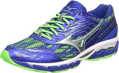 Mizuno Wave Paradox 3, Zapatillas de Running para Hombre, Azul ...