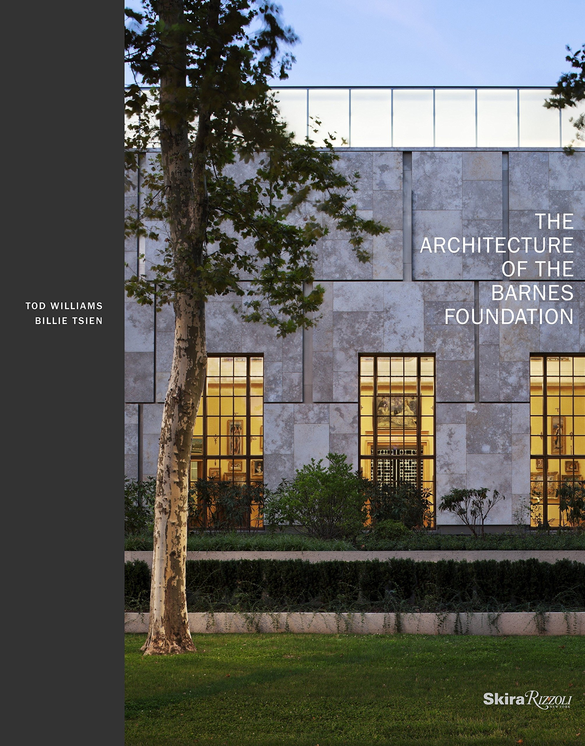 The Architecture Of The Barnes Foundation Gallery In A Garden