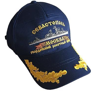 719d8b06 ... new arrivals ganwear ussr cruiser moscow soviet russian navy fleet  summer baseball visor cap hat unisex
