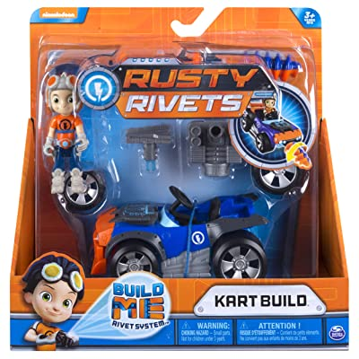 RUSTY RIVETS Rusty's Kart Build: Toys & Games