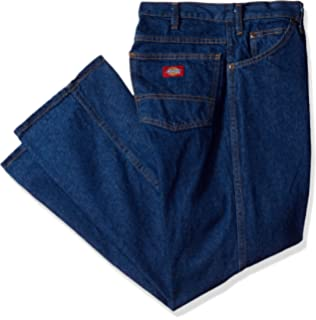 96229af9da Dickies Occupational Workwear C993RNB jean industrial de algodón de ajuste  regular con pierna recta