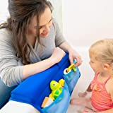 Bath Kneeler and Elbow Rest with Faucet Spout Cover (3pc) Baby Bath Kneeling Pad Mat Extra Thick for Baby Bathtub. Bathroom Tub Bathing Elbow Pad and Knee Cushion for Infant Toy and Baby Accessories