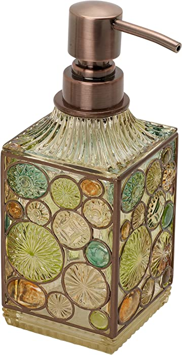 Zenna Home India Ink Boddington Lotion Soap Dispenser, Bronze