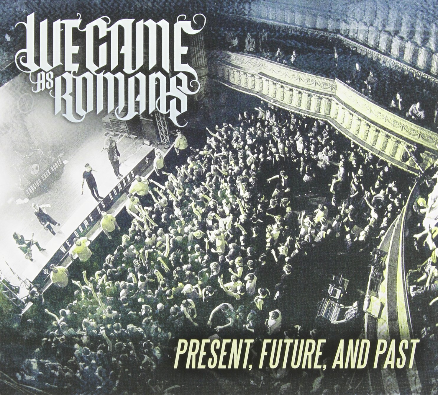 DVD : We Came as Romans - Present Future & Past (DVD)