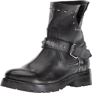 0e823952ad96 FRYE Women s Natalie Lug Rebel Engineer Ankle Boot