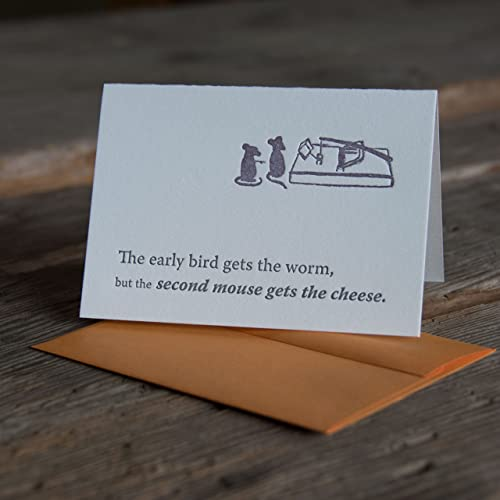 Amazoncom Early Bird Gets The Worm Inspiration Card With Quote