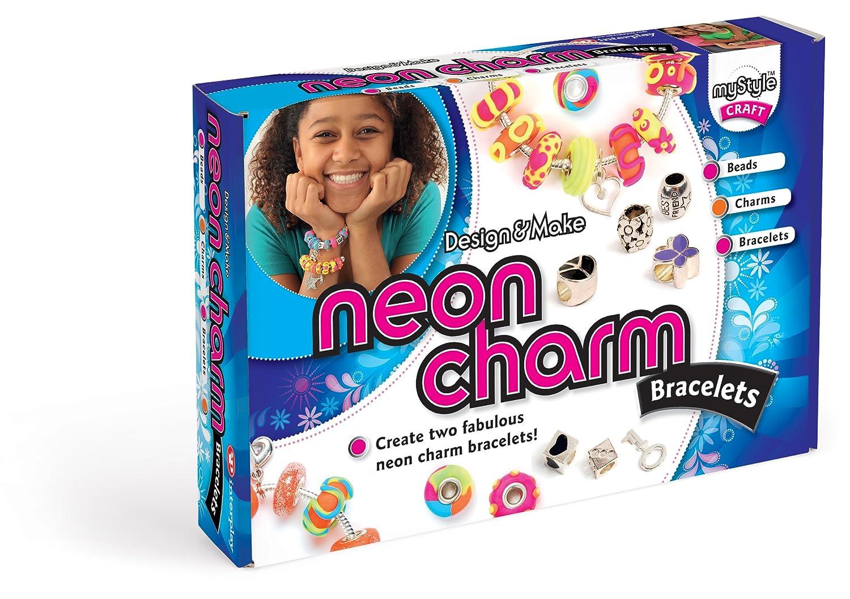 MyStyle - Braccialetti 'Neon Charm', crea i tuoi braccialetti MS110
