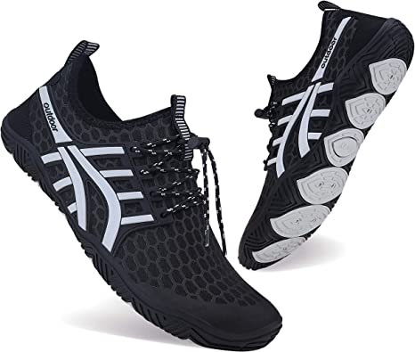 Zapatos de agua MAYZERO para hombre y mujer, para natación, surf, playa, piscina, puntera ancha, senderismo, agua: Amazon.es: Zapatos y complementos