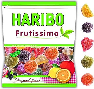 Haribo Frutissima Caramelos de Goma - 275 gr - [Pack de 4]: Amazon.es: Alimentación y bebidas