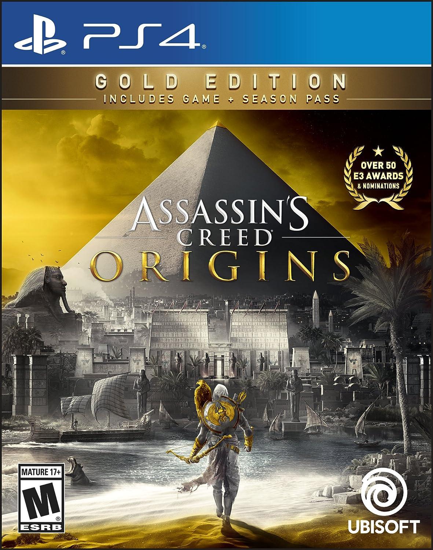 Amazoncom Assassins Creed Origins Gold Edition Ps4