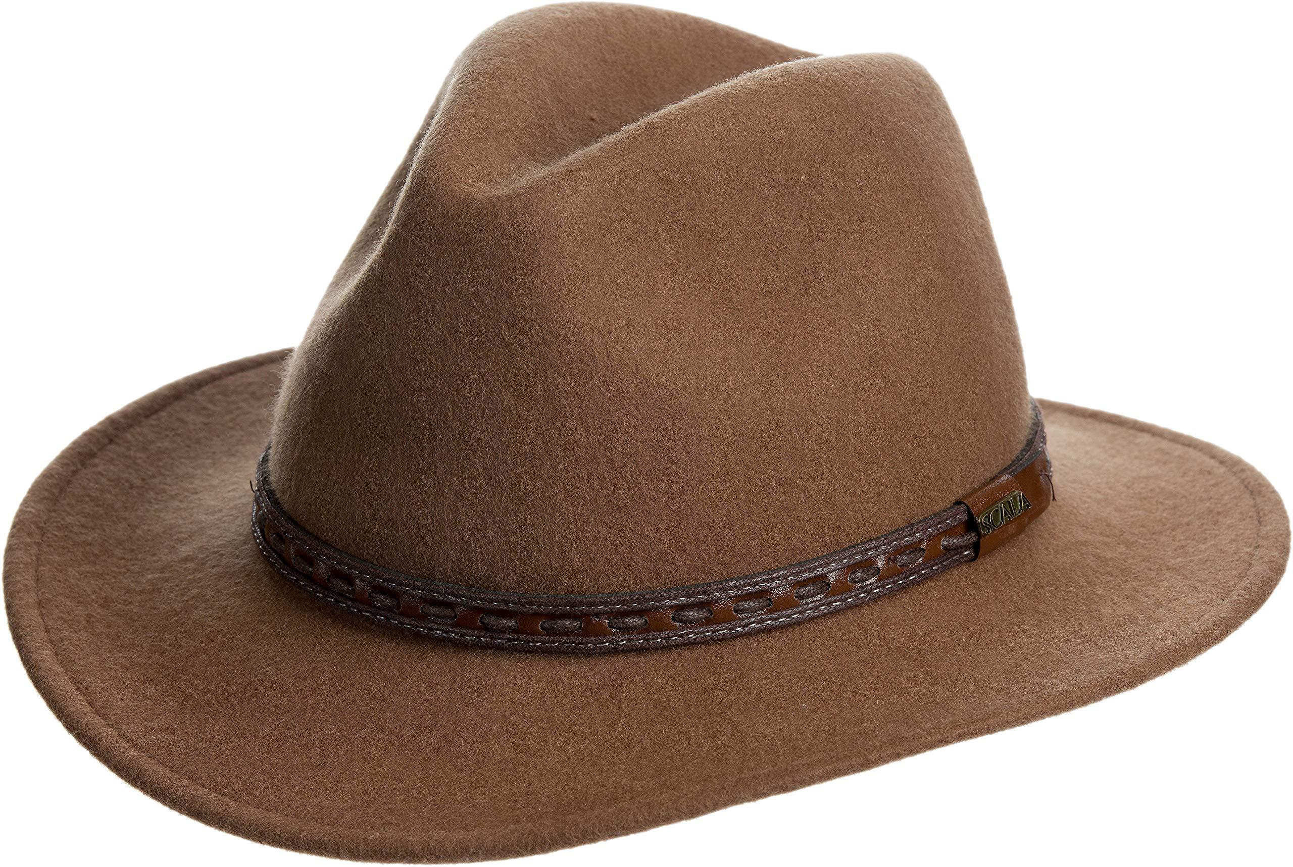 Overland Sheepskin Co Sierra Crushable Wool Safari Hat by Overland Sheepskin Co