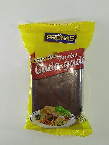 Pronas Bumbu Gado-gado (salsa de maní para verduras mixtas), 185 gramos