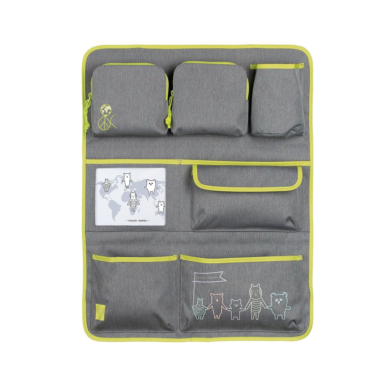 Casual abrigo del coche a Go Acerca de Amigos mélangé niños equipaje