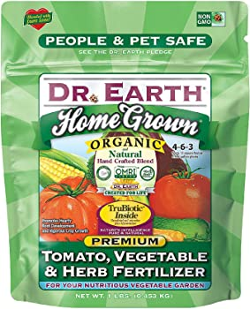Dr. Earth Safe Non-GMO Multi-minerals Enriched Fertilizer For Tomatoes And Peppers