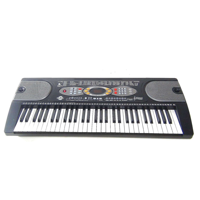 Teclado 61 teclas DynaSun MK2085 LCD USB Keyboard E-Piano Electronico Digital, Función de enseñanza inteligente: Amazon.es: Instrumentos musicales