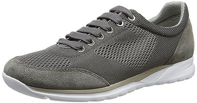 verkauf usa online klassischer Stil offizielle Bilder Geox Herrenschuhe U720HB Damian Sportlicher Herren Sneaker,  Schnürhalbschuh, Freizeitschuh, atmungsaktiv, weiße Sohle