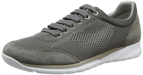 Herrenschuhe Geox (Respira) Sneakers grau (Gr. 44)