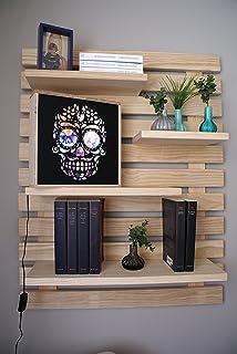 Bücherregal Zum Aufhängen doluxe 29705e flexibles designer wandregal mit 680 möglichkeiten cd
