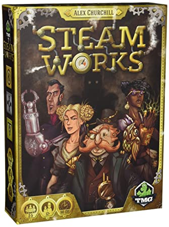 Tasty Minstrel Games Steam Works - Board Game - English