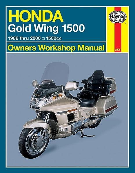 amazon com 90 00 honda gl1500se haynes repair manual automotive rh amazon com 2017 Honda Goldwing 1995 Honda Goldwing