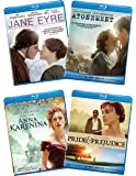 Ladies of Literature Bundle (Pride & Prejudice/ Atonement/ Jane Eyre/ Anna Karenina) [Blu-ray]