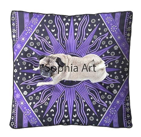 Sophia Art Funda de Almohada de meditación para el Suelo con ...