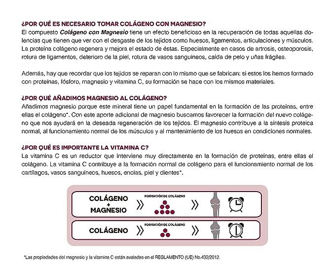 Ana Maria Lajusticia - Colágeno con magnesio - 350 gramos (sabor ...