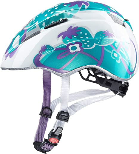 Uvex Kid 2 Casco de bicicleta, Azul (Mint strawberry), 46/52 cm ...