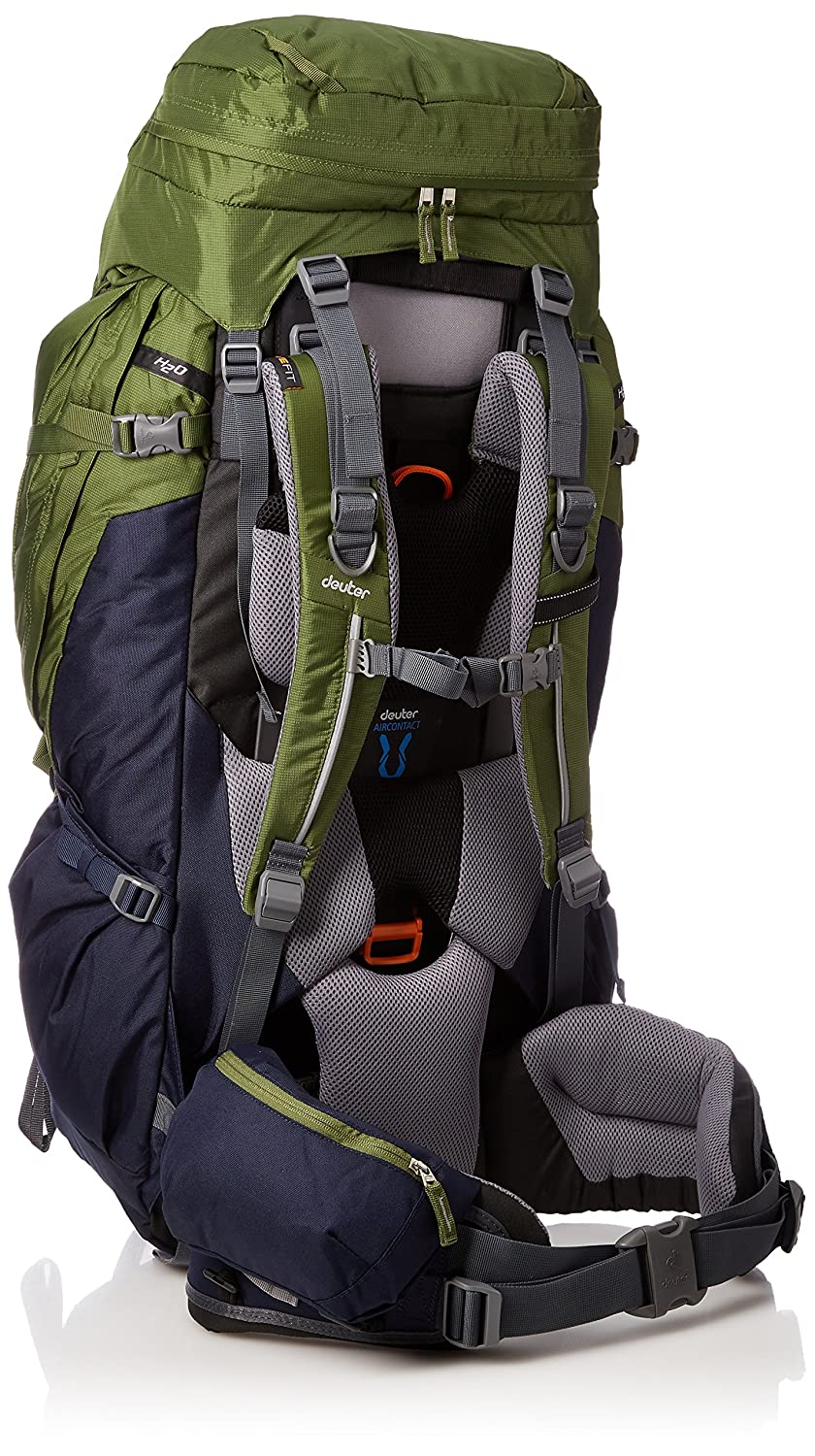 Amazon.com : Deuter AirContact Pro 70 + 15 - Trekking Backpack with Daypack, Pine / Navy : Sports & Outdoors