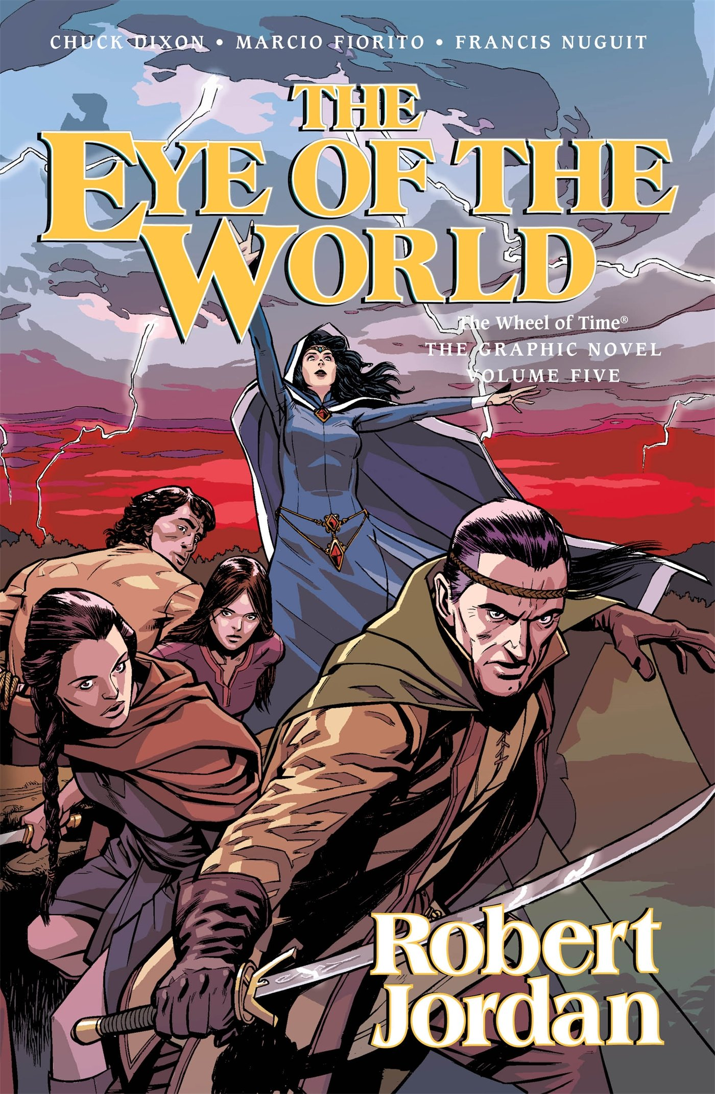 Download The Eye of the World: The Graphic Novel, Volume Five (Wheel of Time Other) ebook