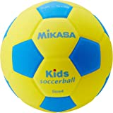 ミカサ サッカーボール スマイルサッカー軽量4号 キッズ用 180g キッズ用 SF4-YBL