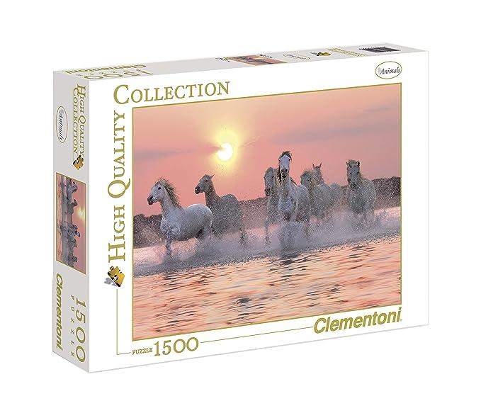 86 opinioni per Clementoni 31991- Puzzle Collezione Alta Qualità Camargue Horses, 1500 Pezzi