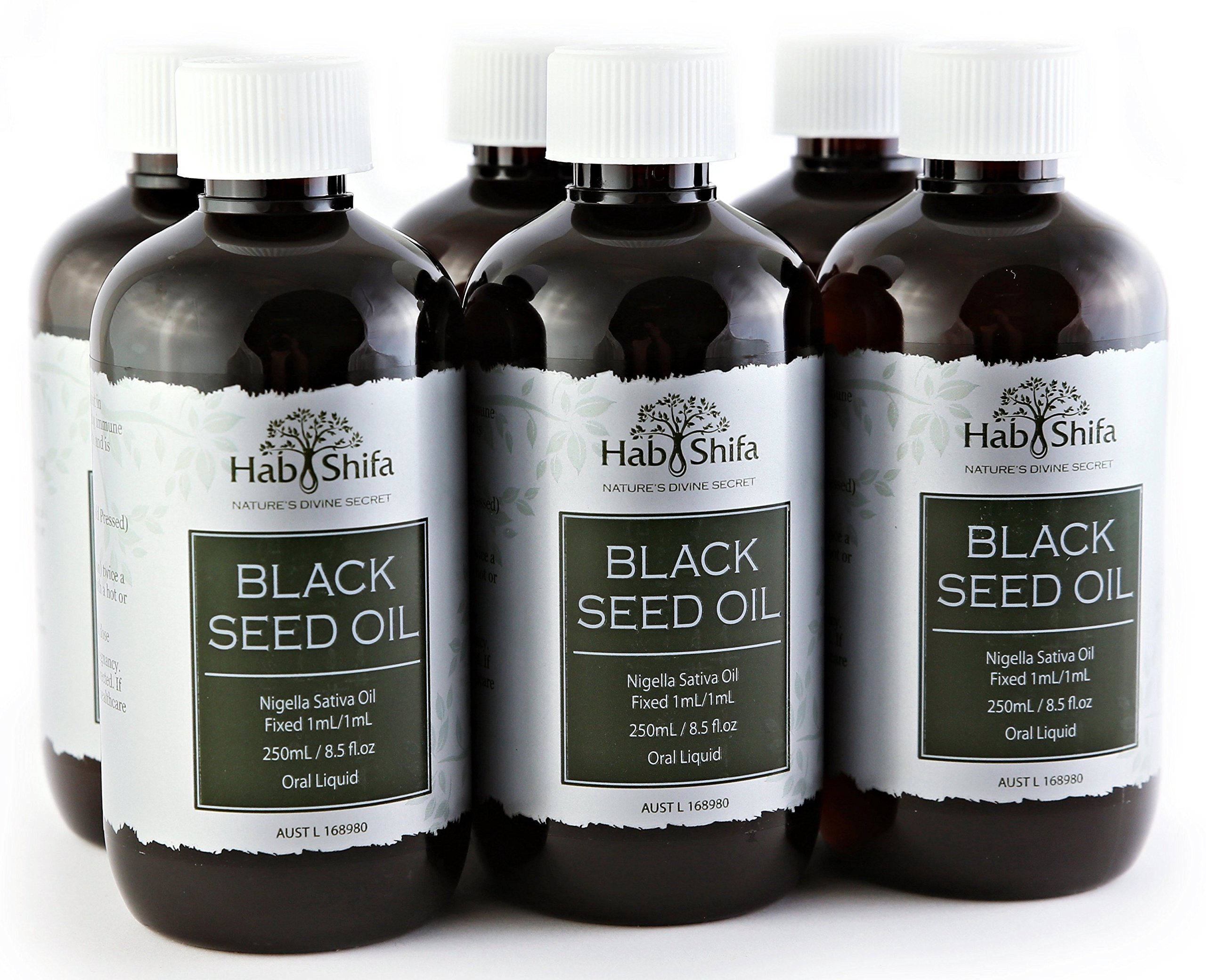 Hab Shifa Black Seed Oil (250ml) 6 Pack Bulk