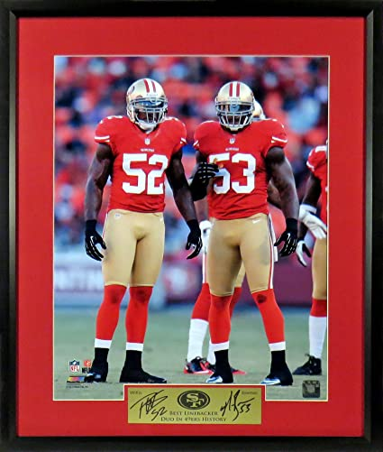the best attitude f460b fcba0 Amazon.com: SF 49ers Patrick Willis & NaVorro Bowman 11x14 ...