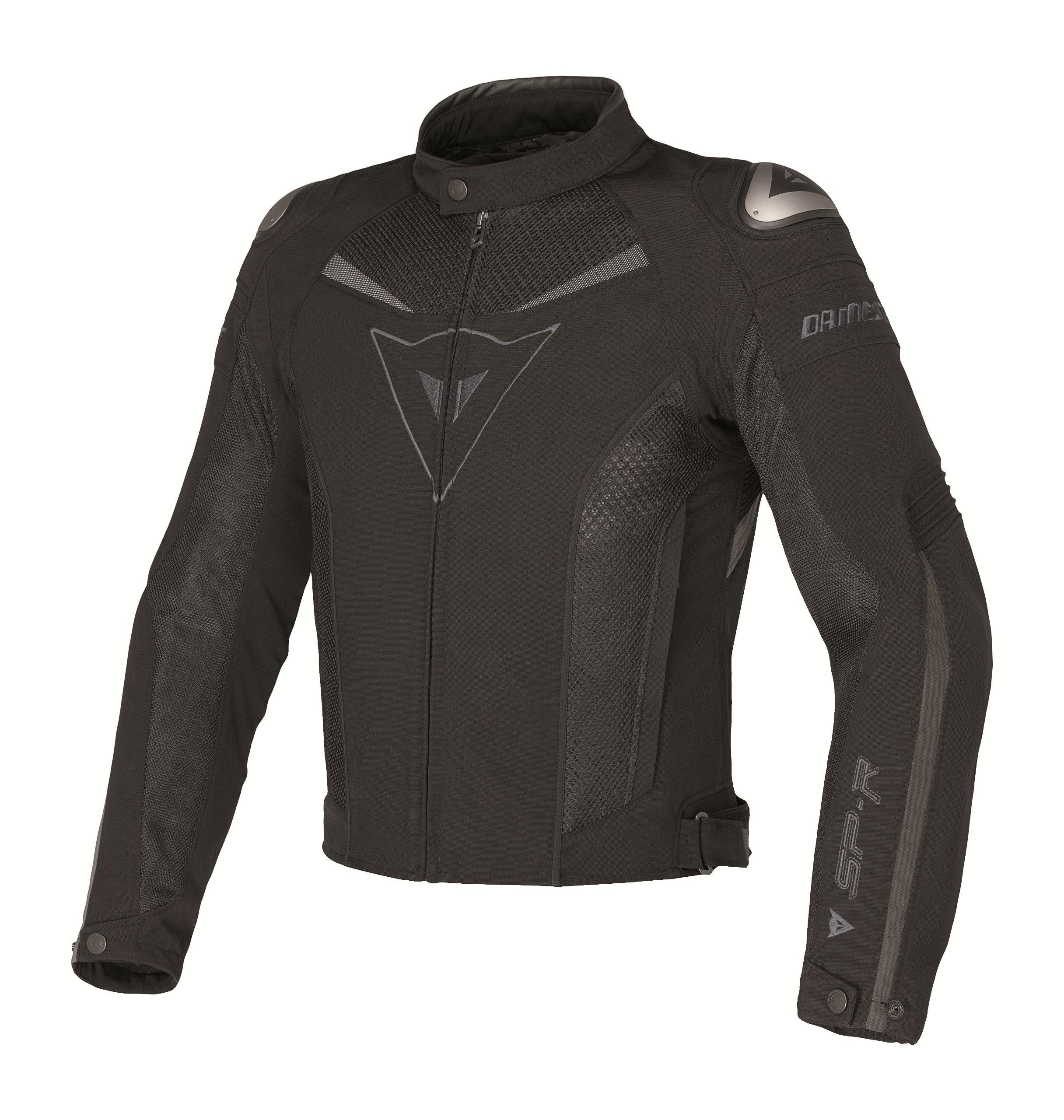 Dainese Super Speed Tex Textile Jacket (Euro 62/US 52, Black/Black/Dark-Gull-Gray)
