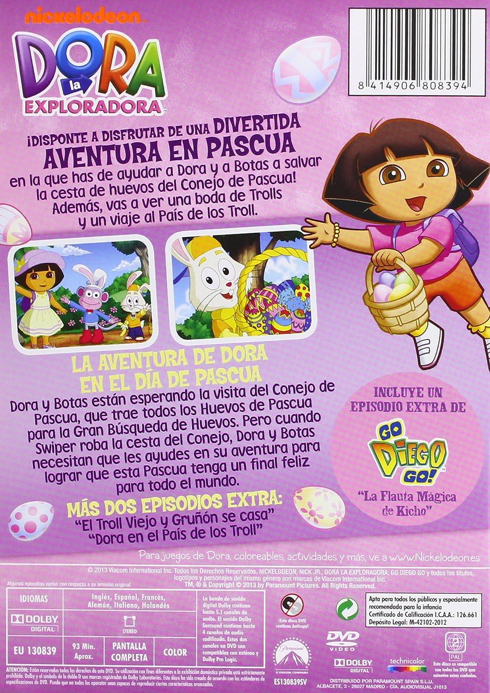 Dora La Exploradora: Una Aventura En Pascua [DVD]: Amazon.es: Personajes Animados, Henry Madden, Valerie Walsh, Eric Weiner: Cine y Series TV